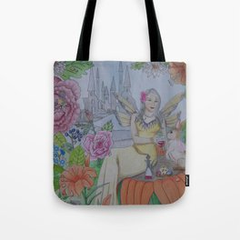 Fairy and Bunny Tote Bag