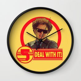 DEAL WITH IT! | Channel 5 | Brule Wall Clock