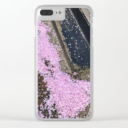 Spring in the West End (3) Clear iPhone Case