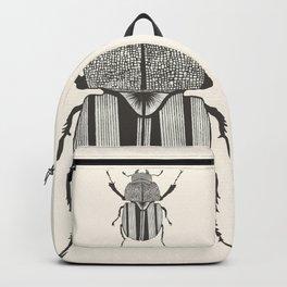 Graphic ekoxe stag beetle Backpack