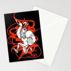 Football Zombie Stationery Cards