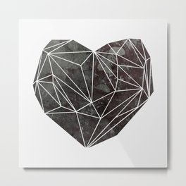 Heart Graphic 4 Metal Print