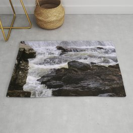 Lowell Tannery Hydro Dam Spring Rush Rug