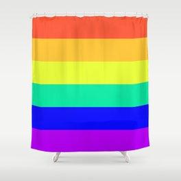 Rainbow Design Shower Curtain