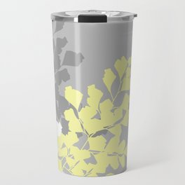 Graphic Shadow Ferns Travel Mug