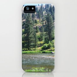 Payette River Scene ~ I iPhone Case