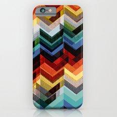 Chevron Multicolour iPhone 6 Slim Case