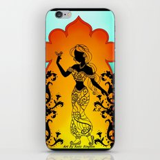 Silhoue Jasmine  iPhone & iPod Skin