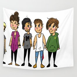 Mini Direction Wall Tapestry