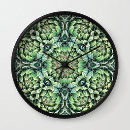 Succulent Splendor Three Wall Clock
