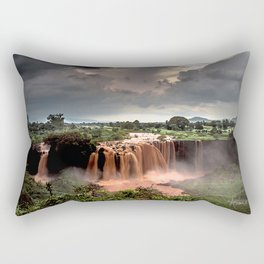 Nile Falls- Rectangular Pillow