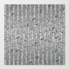 Silver bars Canvas Print