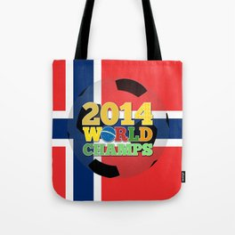 2014 World Champs Ball - Norway Tote Bag