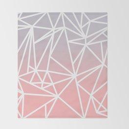 Gradient Mosaic 1 Throw Blanket