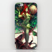 poison ivy iPhone & iPod Skins featuring Poison Ivy by Hai-ning
