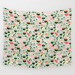 Sushi Love Wall Tapestry