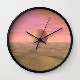 Desert Dream of Geometric Proportions Wall Clock