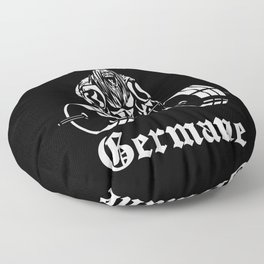 germanic warrior outfit for strength athlete north man Floor Pillow