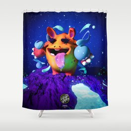 Tongui Shower Curtain