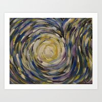 Star Explosion Art Print