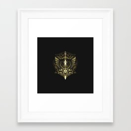 The Legend Of Zelda I Framed Art Print
