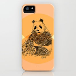 saving panda iPhone Case