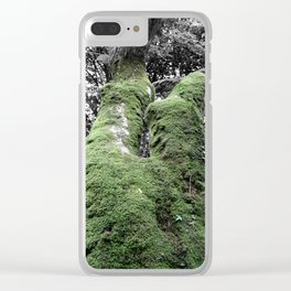 Nature | Black and White, Colour Pop Photography Clear iPhone Case