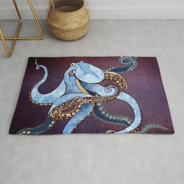 Metallic Octopus III Rug