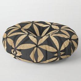 Flower Of Life - Sacred Geometry Floor Pillow