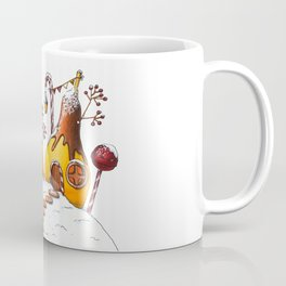 Winter In Candy Land - Pears Coffee Mug