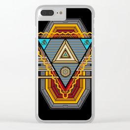 Tesla Portal Clear iPhone Case