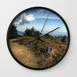 Summit Panorama Wall Clock