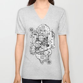 Hungry Gears Unisex V-Neck