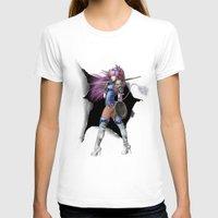 manga T-shirts featuring Manga Unicorn by Illu-Pic-A.T.Art