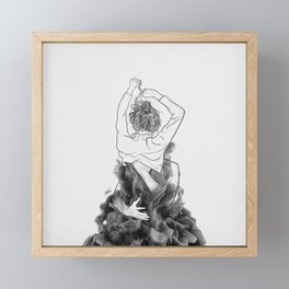 I want to know you little more deep. Framed Mini Art Print