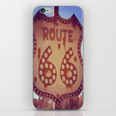 route 66 iPhone & iPod Skin