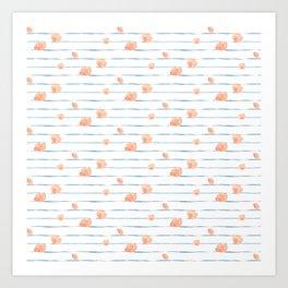 Bloomin' Blush Art Print