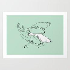 Birdsong 6 Art Print