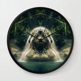 Kaleidoscape: Finca Paraíso Wall Clock