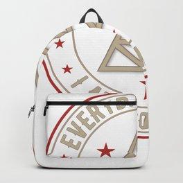 I Am Powerful activated magickal sigil tshirt gift Backpack