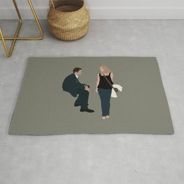 before sunset Rug