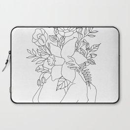 Blossom Hug Laptop Sleeve