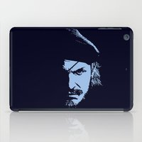 metal gear solid iPad Cases featuring Big Boss (Snake / metal gear solid) by TxzDesign