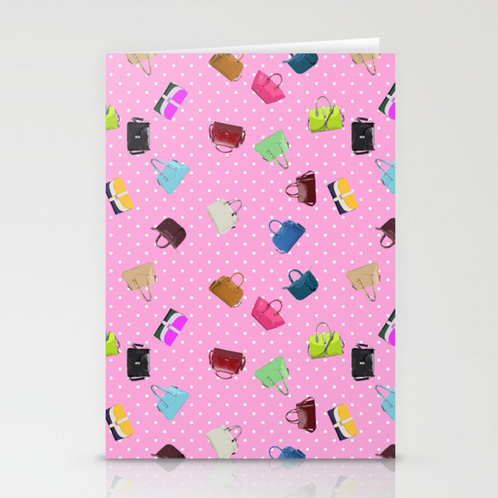 Purses and Handbags Stationery Cards by gx9designs (CRD7303716) photo