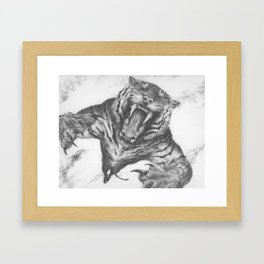 Tiger's Blood Framed Art Print