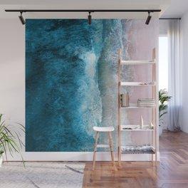 Blue Sea III Wall Mural