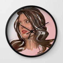 Oh Mandy! #kirovair #art #portrait #design #buyart #drawing Wall Clock