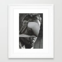 hug Framed Art Prints featuring Hug by Hugo Barros
