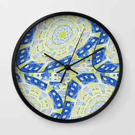 Distorted Order Wall Clock