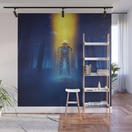 Forest Flux Wall Mural